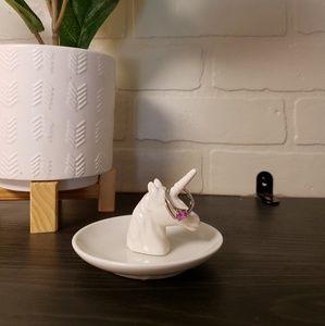 Other - Ceramic Unicorn Ring Holder Trinket Plate gift